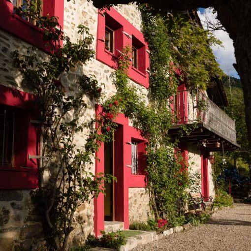 Casa Masip en Zaldierna, Ezcaray, La Rioja, España.