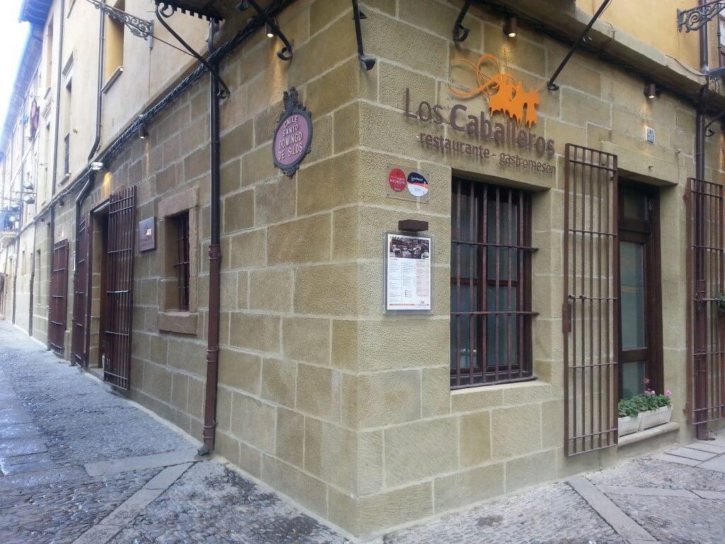 Reconstrucción de fachada en el restaurante Los Caballeros